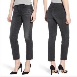 NEW • AG • Isabelle High Rise Straight Crop Jeans